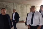 Борисов инспектира спортната зала. Готова ще е до края на годината (ВИДЕО)