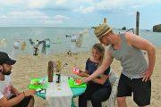 Студенти от България и Германия с арт инсталация в защита на екоплаж Корал /видео/