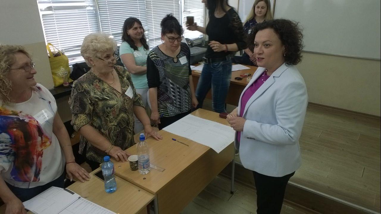 Василева: Гласувам за силно бургаско присъствие в бъдещия Европарламент