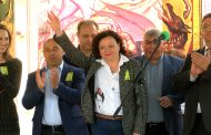 Ивелина Василева в Поморие: Гордея се, че тракийци съхраняват традициите /снимки/