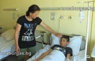 Мехмед, който оцеля като по чудо при катастрофата на училищен автобус: Шофьорът караше бързо!