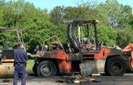 Откриха туба до изгорелите машини за ремонта в Меден рудник (видео)