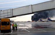 Извънредно! Пожар при аварийно кацане на самолет на летище Шереметиево/видео/
