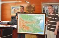 Новата релефна карта на България в Несебър