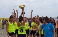 Отборът на Поморие зае второ място на държавното първенство по плажен хандбал