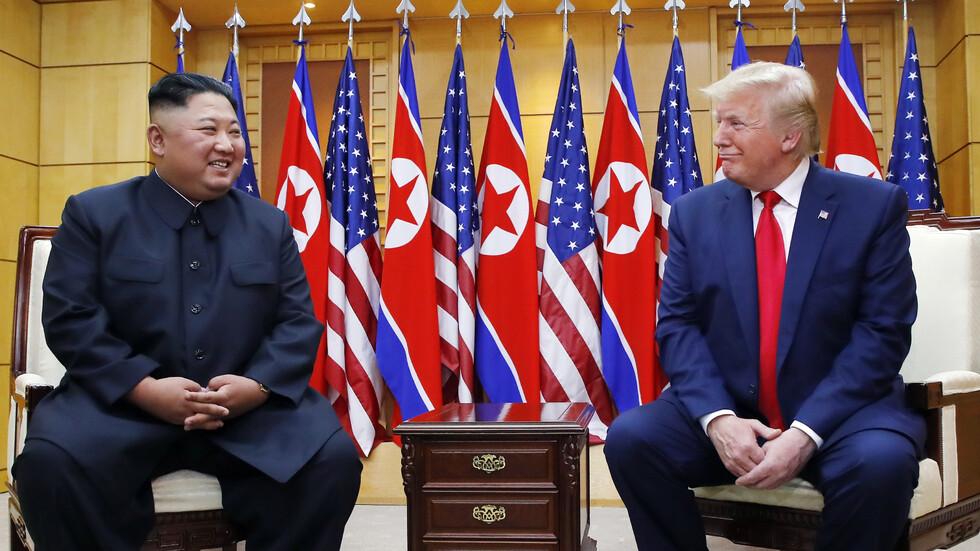 Тръмп и Ким Чен-ун се срещнаха в зоната между двете Кореи