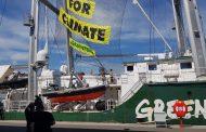 Корабът на Грийнпийс Rainbow Warrior отново е в Бургас