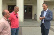 Жителите на кв. Сарафово пак притеснени за свлачището, за 10 месеца е направена само канавка