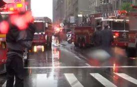 Извънредно: Хеликоптер се разби в сграда в Ню Йорк/видео/