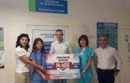 Благотворителното бягане на 5kmrun купи ново термолегло за Отделението по неонатология на УМБАЛ Бургас