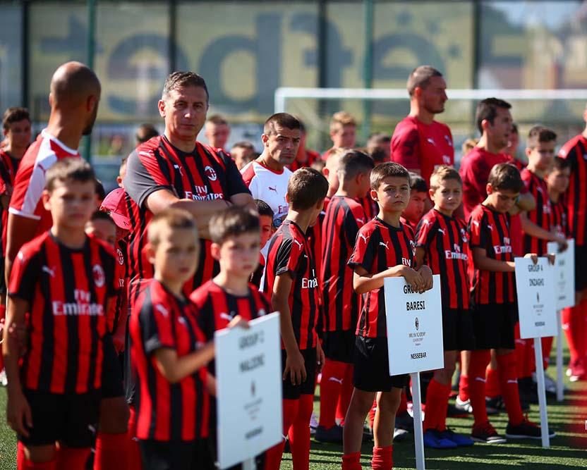 Несебър тържествено изпрати малките участници в   деветото издание на Milan Academy Junior Camp