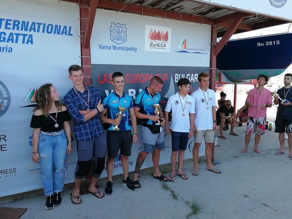 Успешно представяне на несебърските ветроходци на държавното първенство