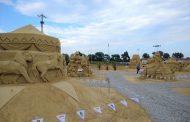 Вижте любими детски герои на пясъчния фестивал  (ВИДЕО)