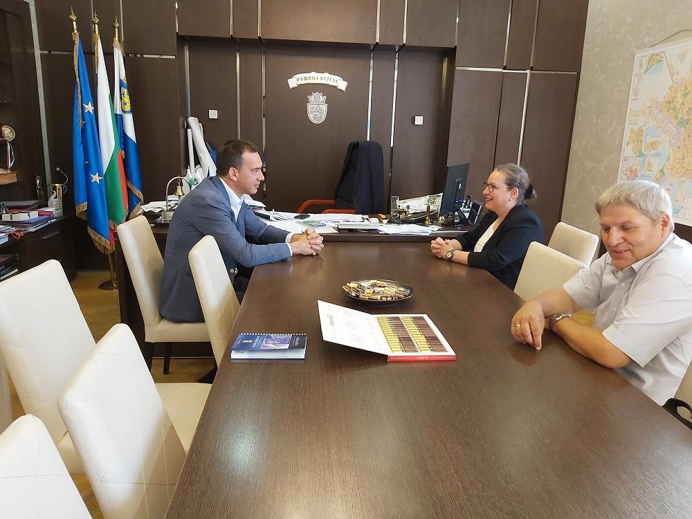 Обсъдиха възможностите за сътрудничество между медицинския факултет в Бургас и университети от Израел