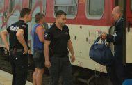 Нападение с нож във влака София- Бургас, има ранен /снимки/