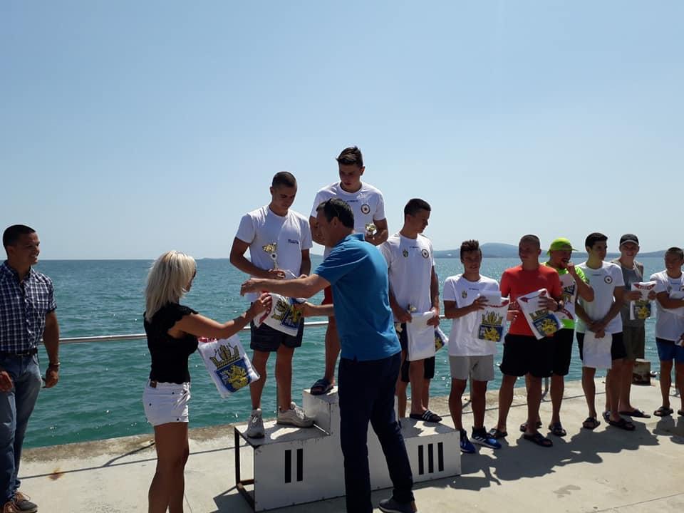 Плувният маратон от о-в Св. Анастасия  може стане международен/снимки/