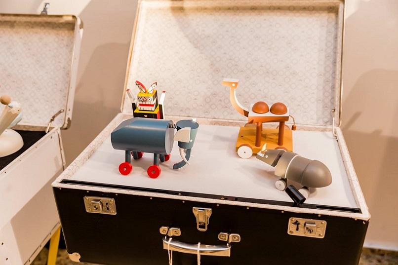 В галерия Баев показват чешки дизайнерски играчки от последните 100 години
