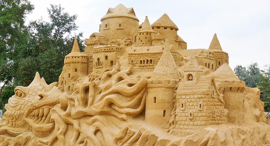 Фестивалът на пясъчните скулптури с ново работно време от септември