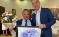 Димитър Николов поздрави Антон Коджабашев за 60-годишния му юбилей