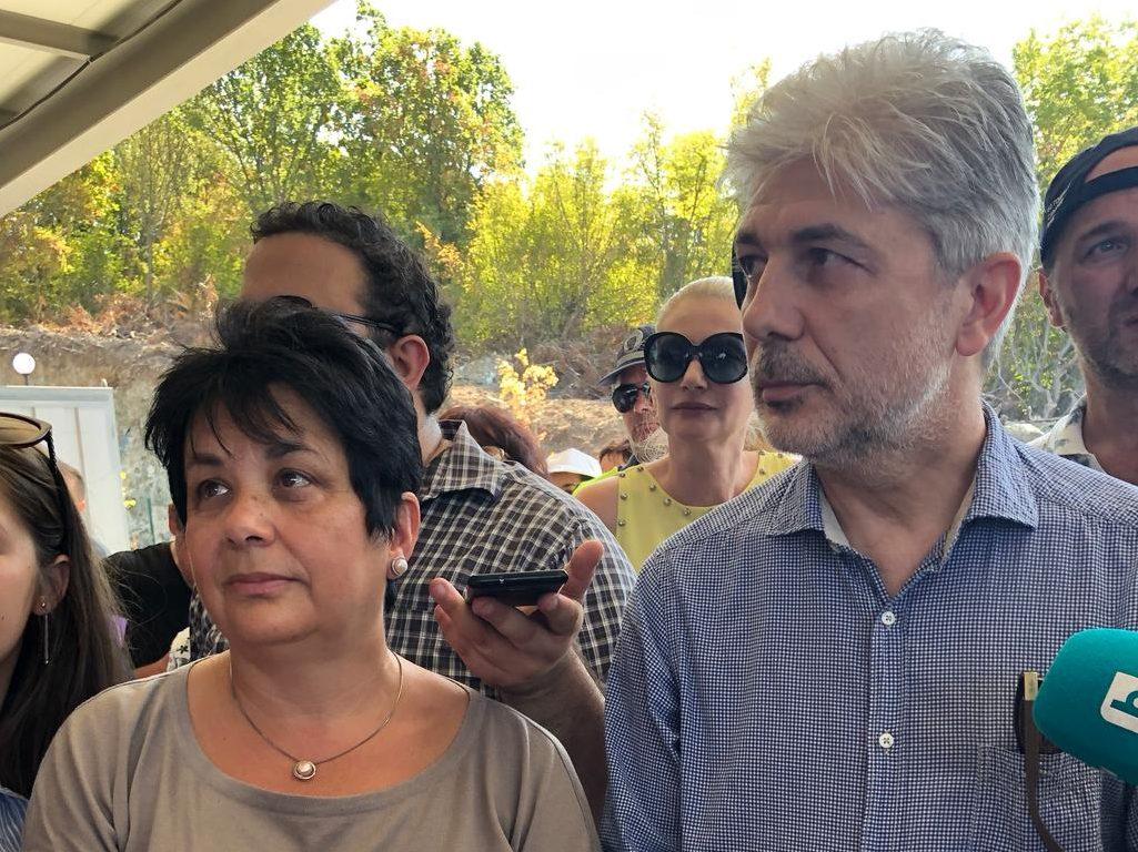 Министър Димов: Площадката за събиране на опасни отпадъци край Атия е направена по най-високи стандарти