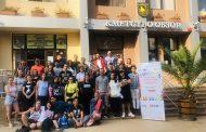Обзор е домакин на международен младежки обмен