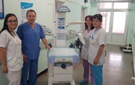 МБАЛ Поморие вече разполага с животоспасяваща реанимационна маса за новородени