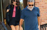 Джор Клуни и Амал празнуват петата годишнина от сватбата си
