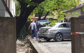 Взривиха колата на частен съдебен изпълнител  (СНИМКИ)