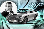Показват емблематичното возило на Джеймс Бонд - Aston Martin DB5
