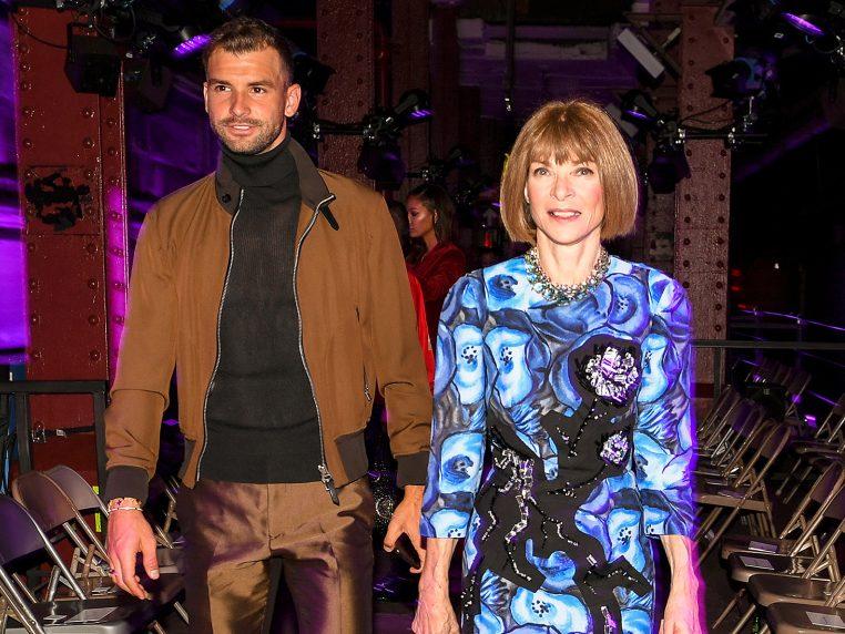 Гришо на ревю на Том Форд с главната редакторка на Vogue