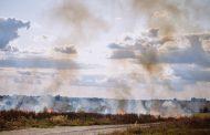Подновиха гасенето на пожара край Котел