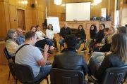 Студенти се обучаваха по медиация в бургаските Окръжен и Районен съд