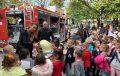 Деца опознават професията на полицая