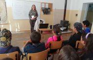 Открит урок за трафика на хора в училището в Кошарица