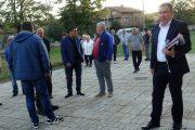 Силна подкрепа от жителите на село Баня за независимия кандидат за кмет на Несебър Николай Димитров