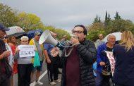 Жители на Черноморец: Каракачанов е лъжец! (СНИМКИ/ВИДЕО)