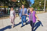 Евродепутатът Асим Адемов с поредица срещи в Сунгурларе, подкрепи екипа на кандидата за кмет Георги Кенов