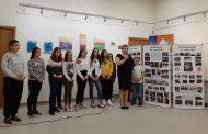 Живко Господинов уважи изложба от абстрактни картини на деца от Българово