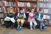 """Децата от ДГ """"Яна Лъскова"""" направиха своето първо посещение в библиотека"""
