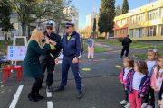 МВР Бургас отбеляза Световния ден за жертвите на пътя