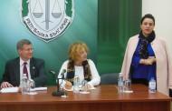 Американски върховен съдия от Колорадо се срещна в Бургас с магистрати от апелативния район