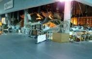 Газова бутилка се взриви в мол