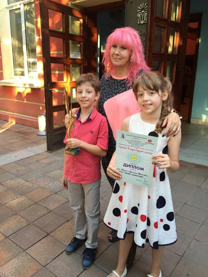 Анелия и Кристиян Налбантови отново с първа награда