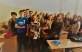 Ученици с първи урок по административно правосъдие
