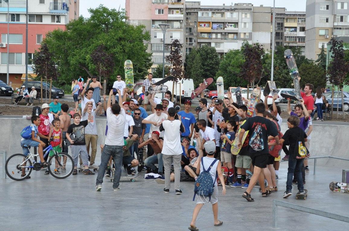 Бургас ще е домакин на международно скейт състезание