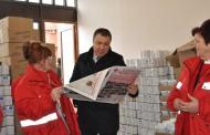 Започна раздаването на хранителни продукти в Несебър
