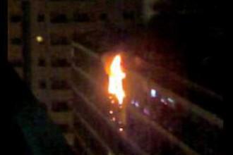 Навръх Коледа: Пожар изпепели дома на семейство в