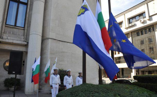 Бургас чества 109 години Независима България/галерия/