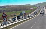 """Ограничават движението от Карнобат до Българово в посока Бургас на АМ """"Тракия"""""""