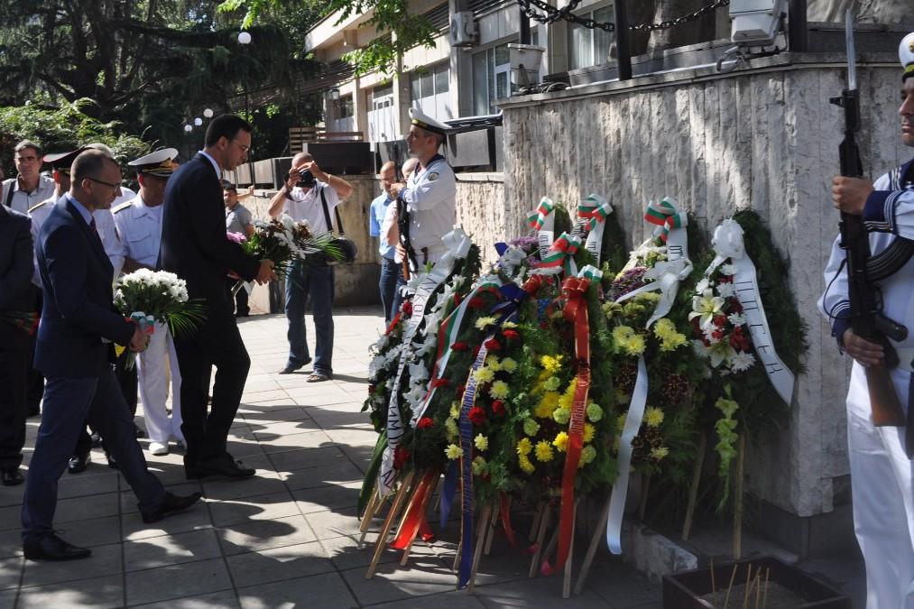Бургас отбелязва 130 години от Съединението на България
